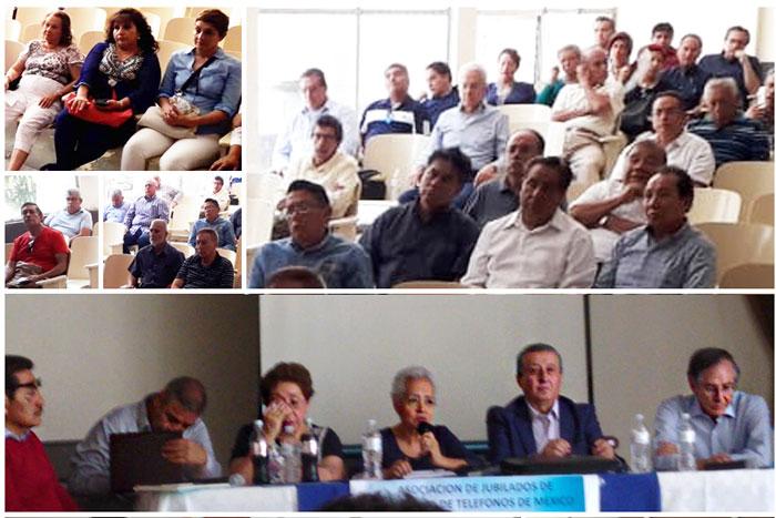 Reunión 18 de junio - Asociación de Jubilados de Confianza de Teléfonos de México A.C.