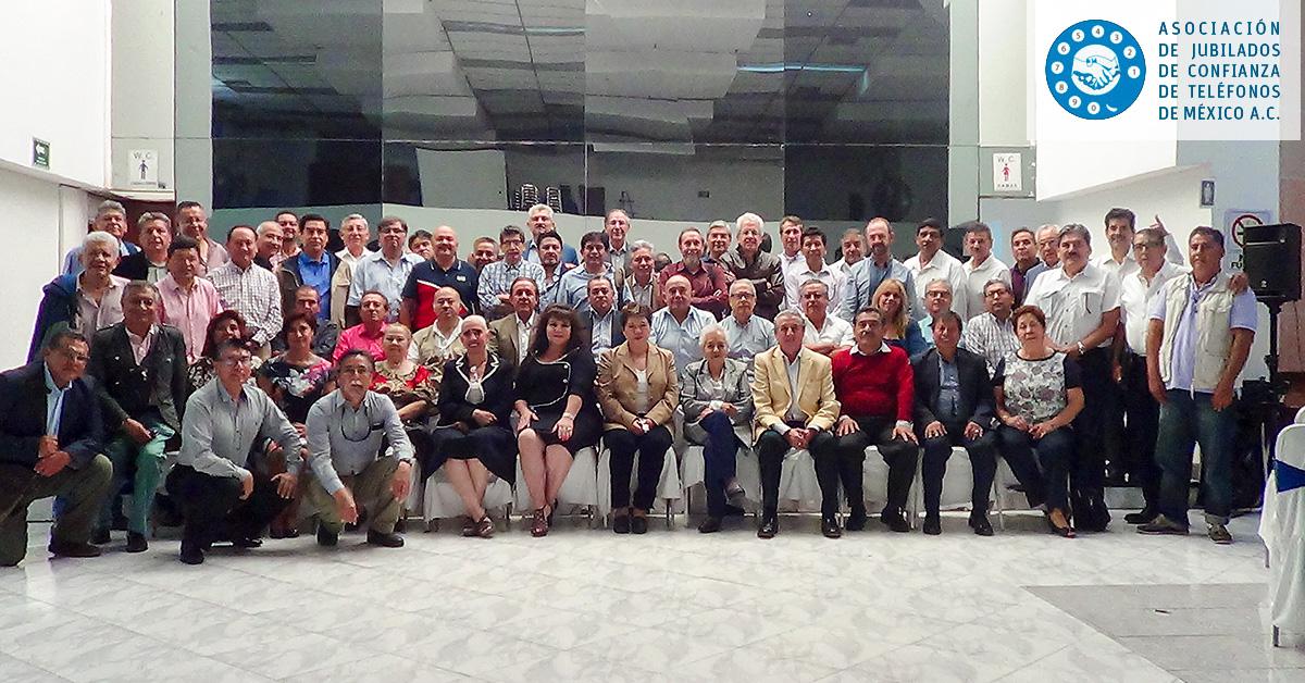 Asamblea General - Asociación de Jubilados de Confianza de Teléfonos de México A.C.