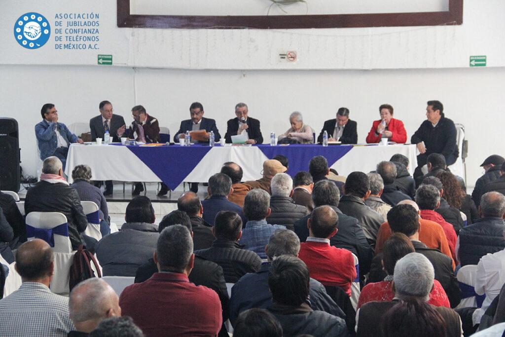 Asamblea Asociación de Jubilados de Confianza de Teléfonos de México A.C. - Telmex