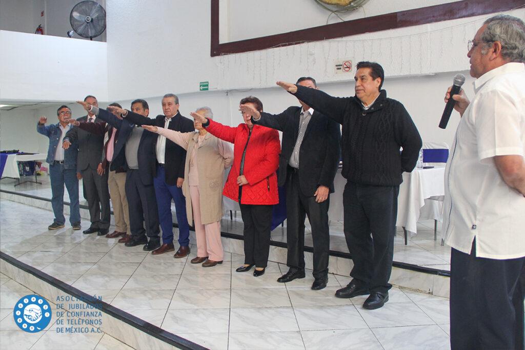 ratificación Consejo Asociación de Jubilados de Confianza de Teléfonos de México A.C. - Telmex