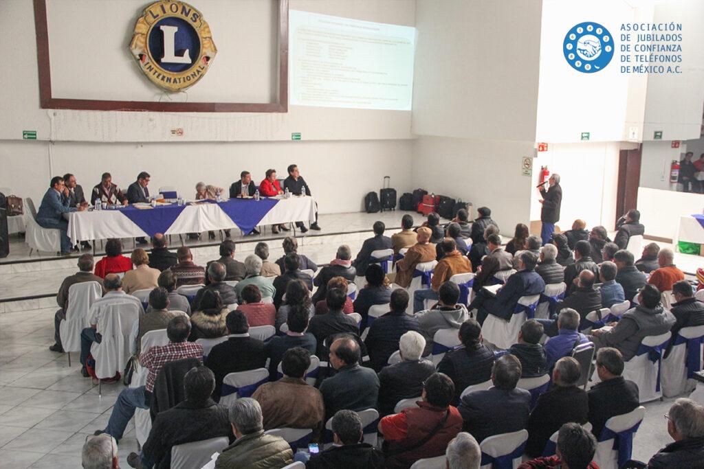 informe Asociación de Jubilados de Confianza de Teléfonos de México A.C. - Telmex