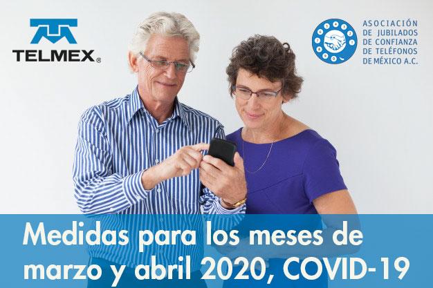Medidas para los meses de marzo y abril 2020, COVID-19
