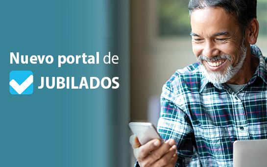 Nuevo portal de Jubilados